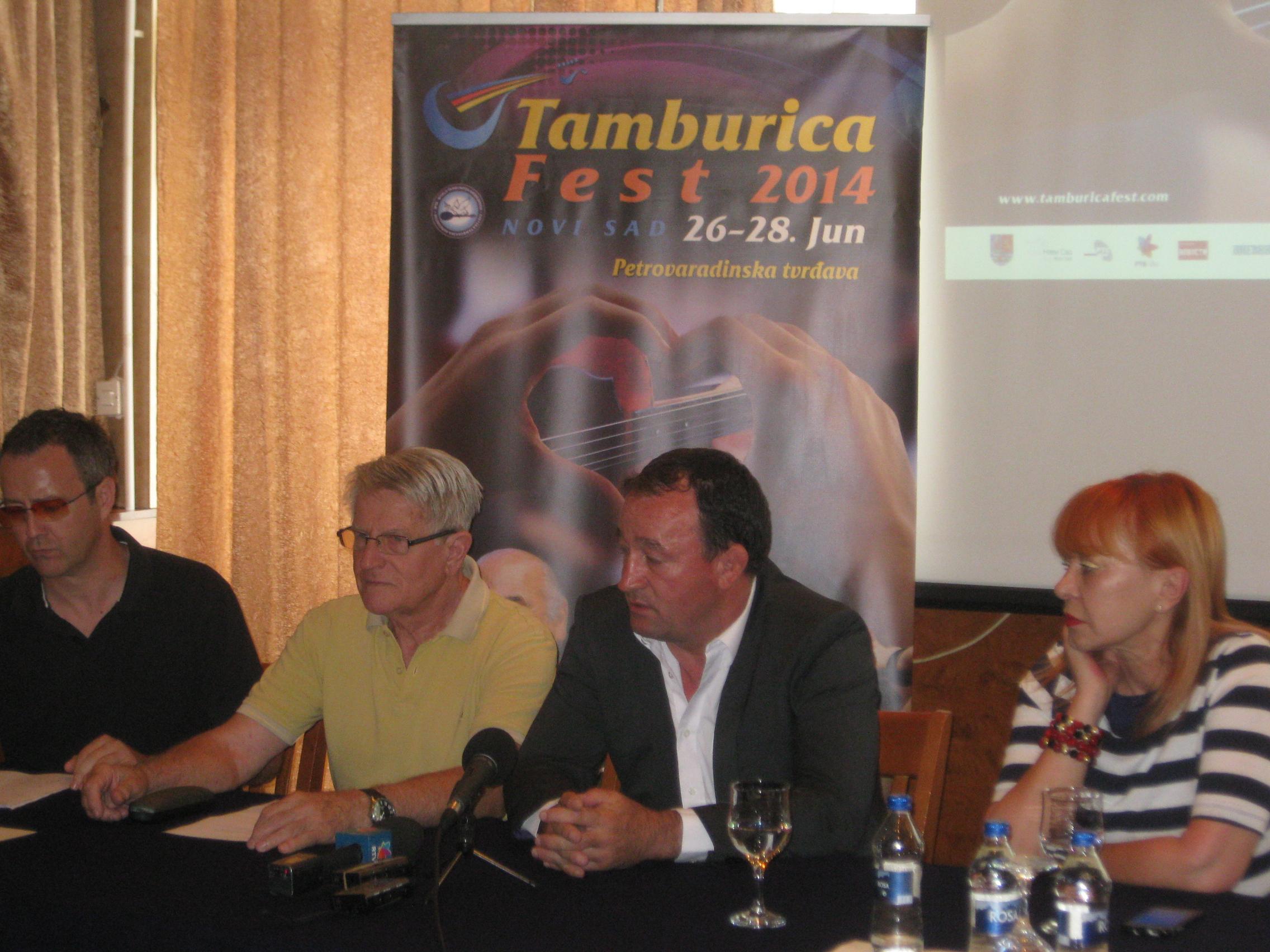 18 JUN TAMBURICA PRES DANILO NINKOVIC JOVAN ADAMOV JOVAN PEJCIC DINA VRANESEVIC