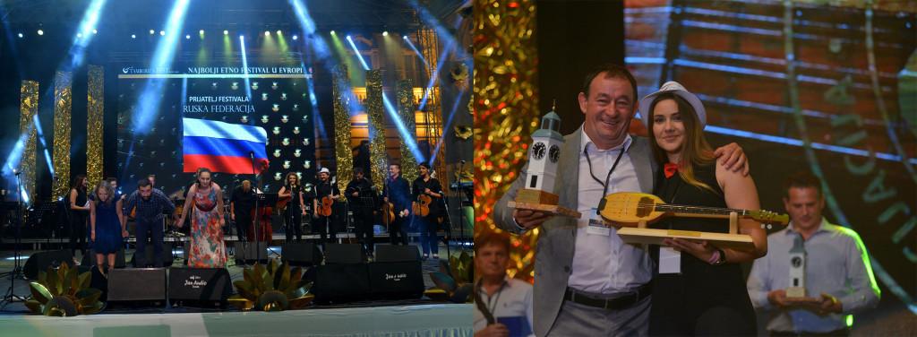 Grand prix za najbolji orkestar festivala - Gradski tamburaški orkestar Banjaluka